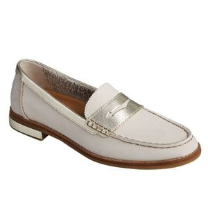 Sperry Seaport PLUSHWAVE Saffiano Leather Loafer